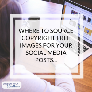 Where to source Copyright free images for your social media posts…